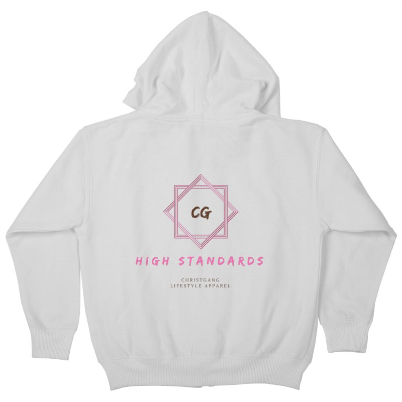 High Standards Kids Zip-Up Hoody by ChristGang Apparel