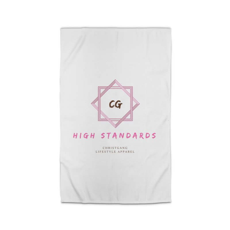 High Standards Home Rug by ChristGang Apparel