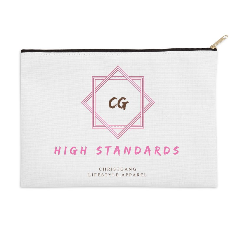 High Standards Accessories Zip Pouch by ChristGang Apparel