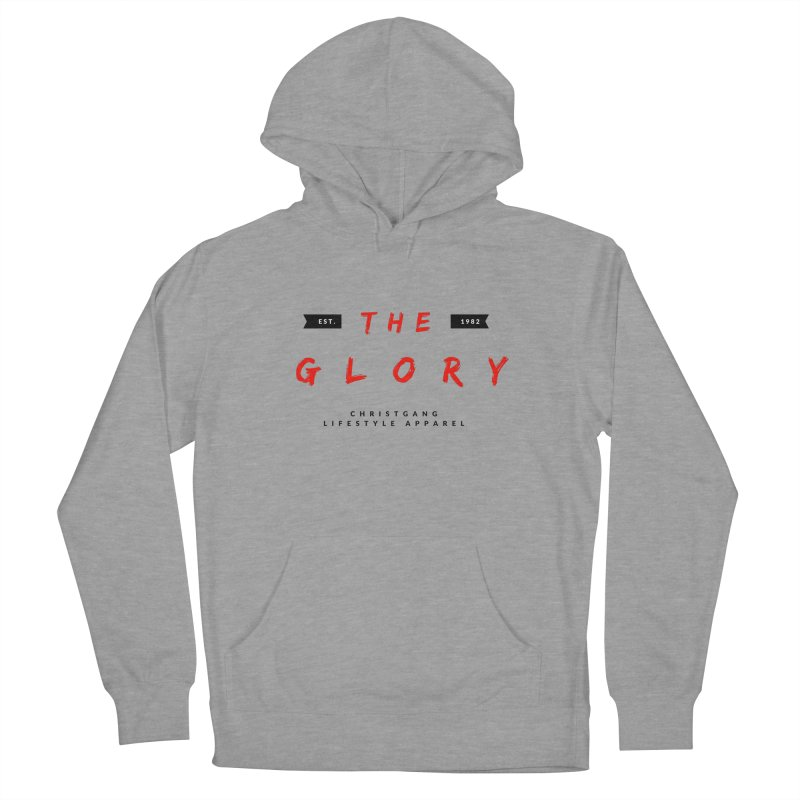 The Glory Men's French Terry Pullover Hoody by ChristGang Apparel
