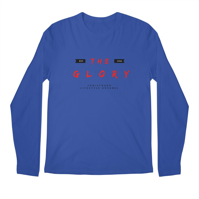 The Glory Men's Regular Longsleeve T-Shirt by ChristGang Apparel