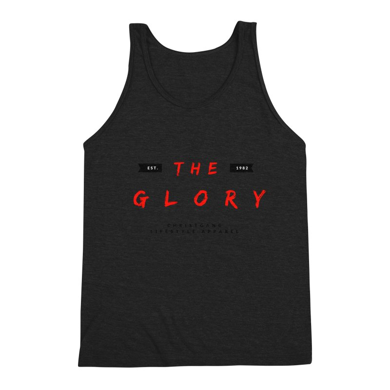 The Glory Men's Tank by ChristGang Apparel