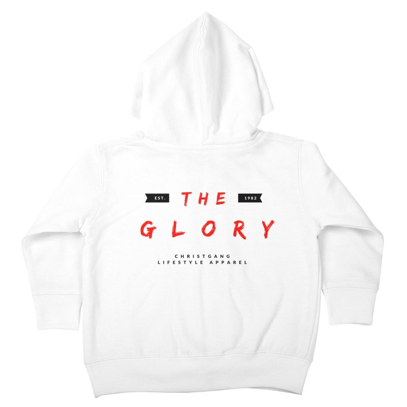 The Glory Kids Toddler Zip-Up Hoody by ChristGang Apparel