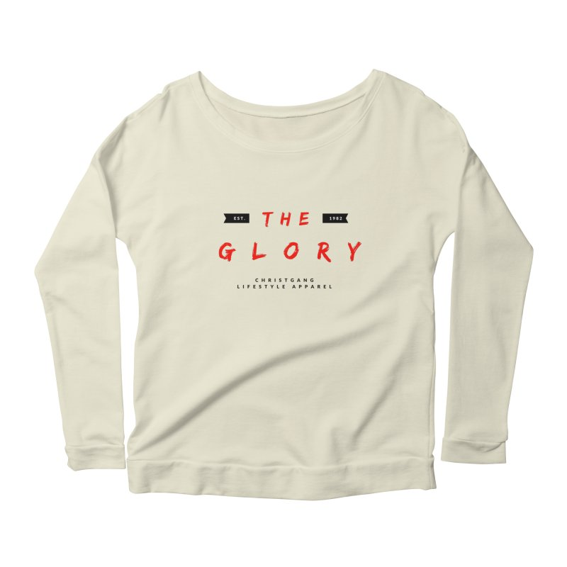 The Glory Women's Scoop Neck Longsleeve T-Shirt by ChristGang Apparel