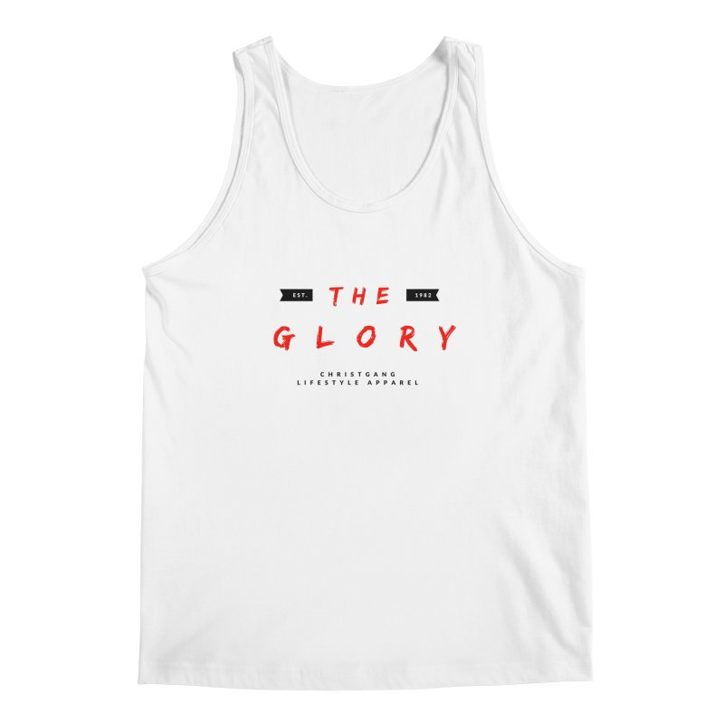 The Glory Men's Regular Tank by ChristGang Apparel