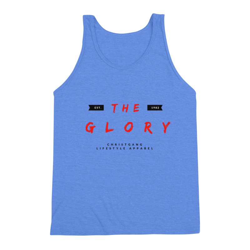 The Glory Men's Triblend Tank by ChristGang Apparel