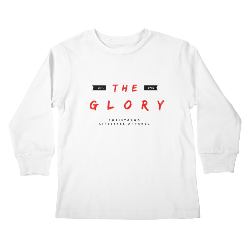 The Glory Kids Longsleeve T-Shirt by ChristGang Apparel