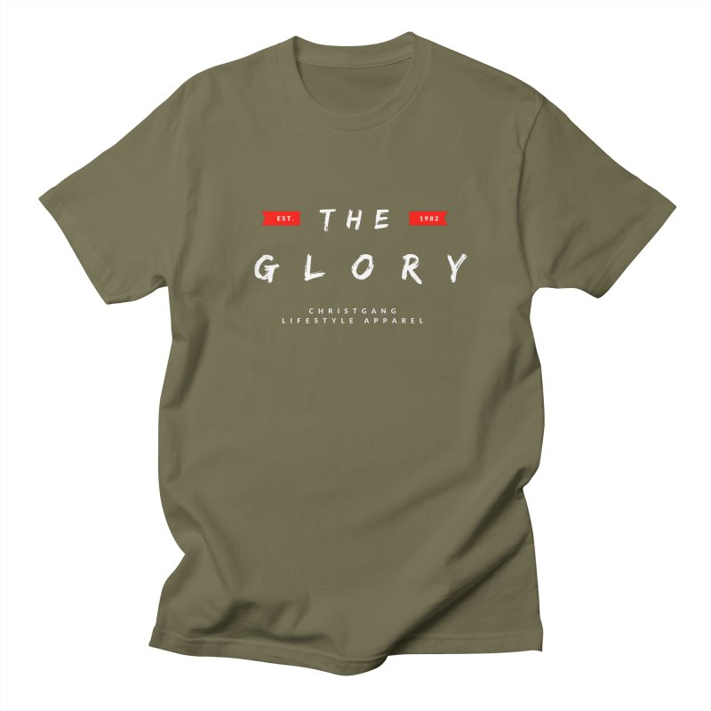 The Glory White Men's T-Shirt by ChristGang Apparel