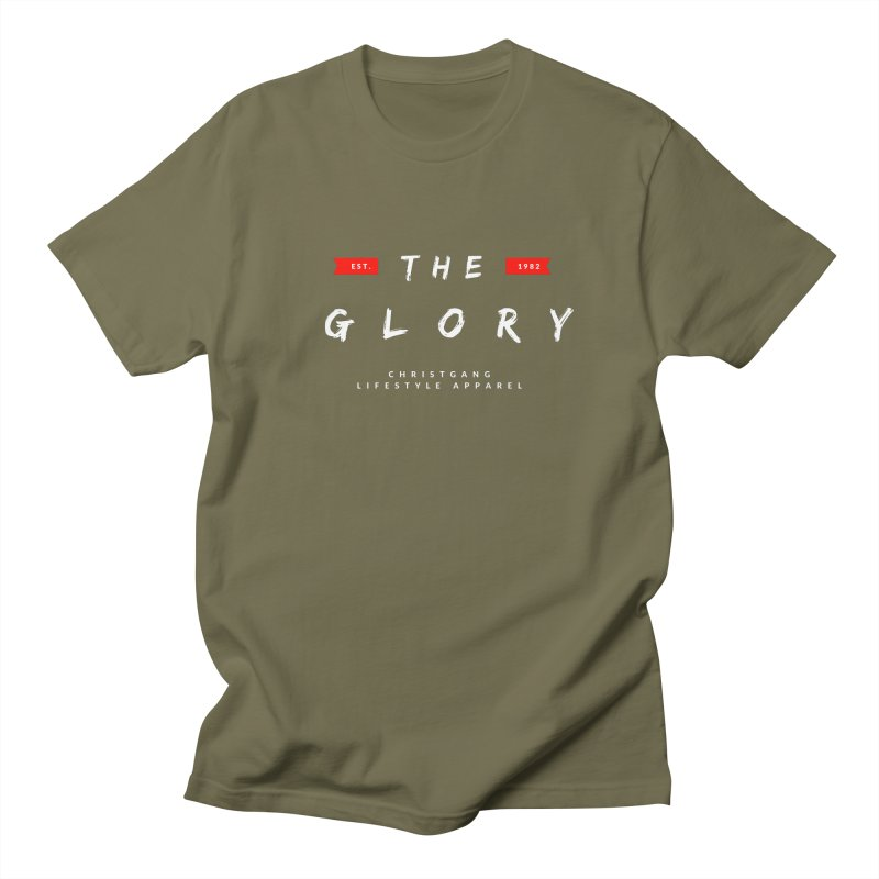 The Glory White Women's Regular Unisex T-Shirt by ChristGang Apparel