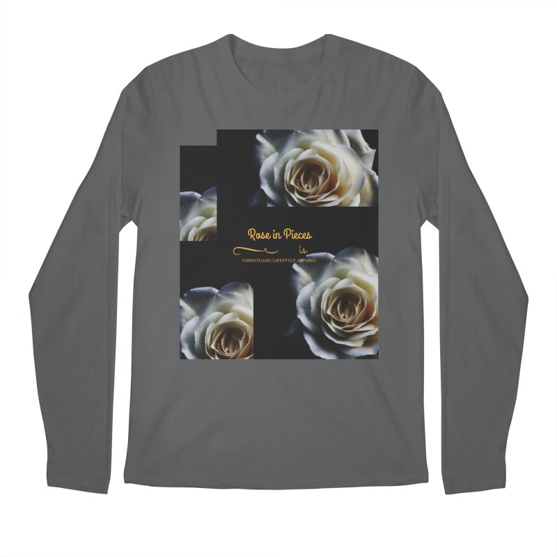 Pieces Of A Rose Men's Longsleeve T-Shirt by ChristGang Apparel
