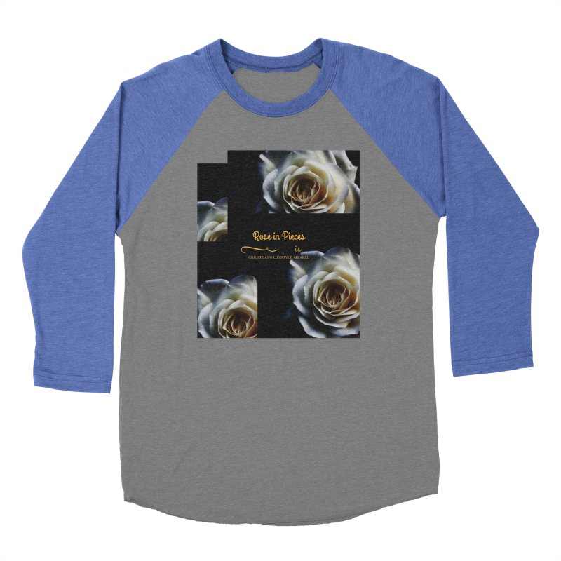 Pieces Of A Rose Women's Baseball Triblend Longsleeve T-Shirt by ChristGang Apparel
