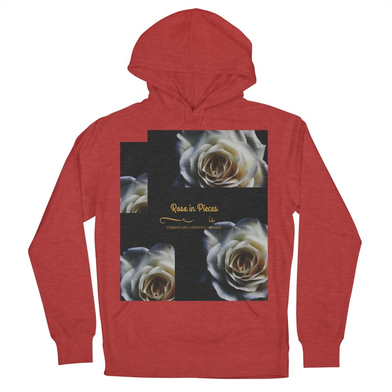 Pieces Of A Rose Women's Pullover Hoody by ChristGang Apparel