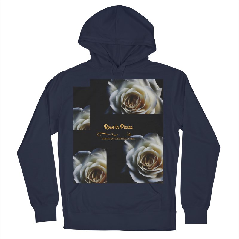 Pieces Of A Rose Men's Pullover Hoody by ChristGang Apparel