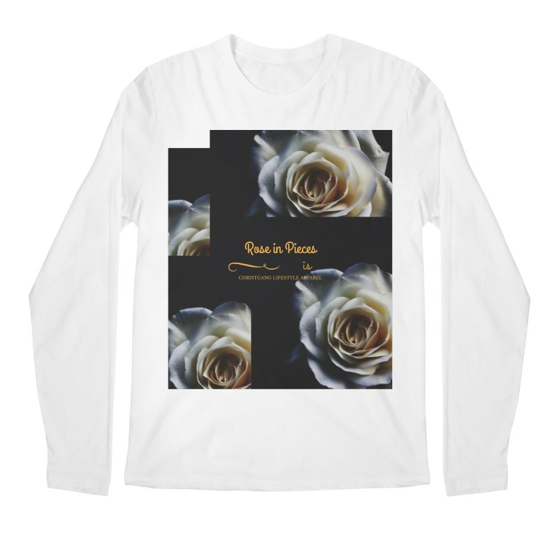 Pieces Of A Rose Men's Regular Longsleeve T-Shirt by ChristGang Apparel