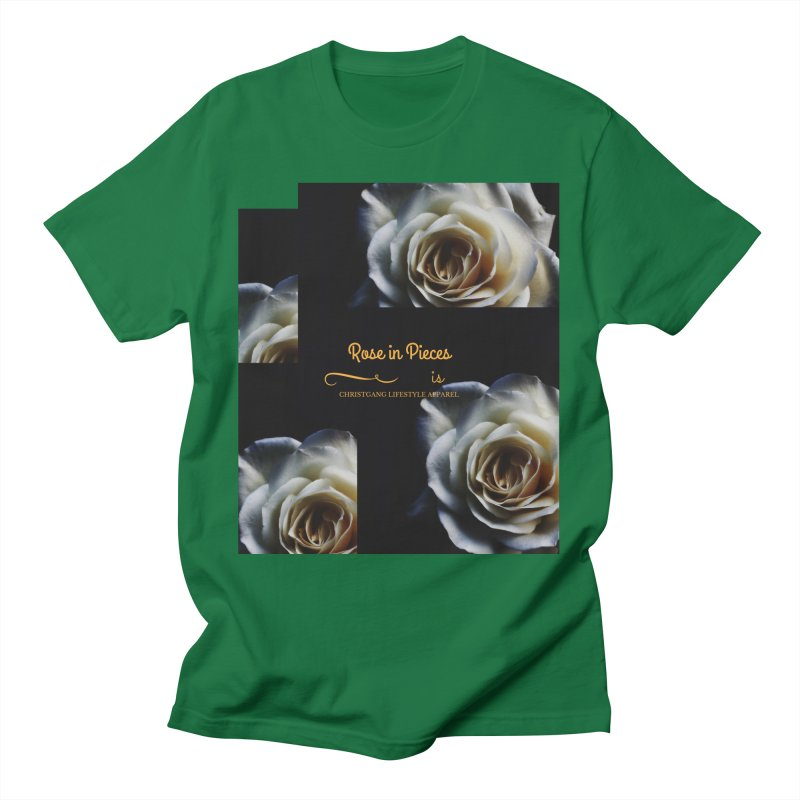 Pieces Of A Rose Men's T-Shirt by ChristGang Apparel