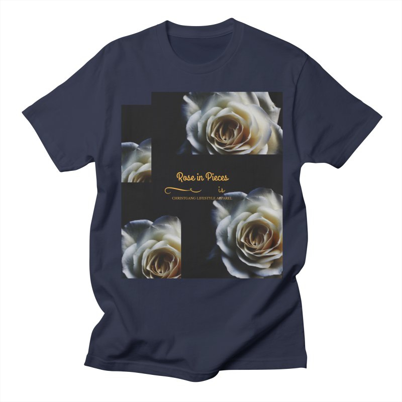 Pieces Of A Rose Women's Regular Unisex T-Shirt by ChristGang Apparel
