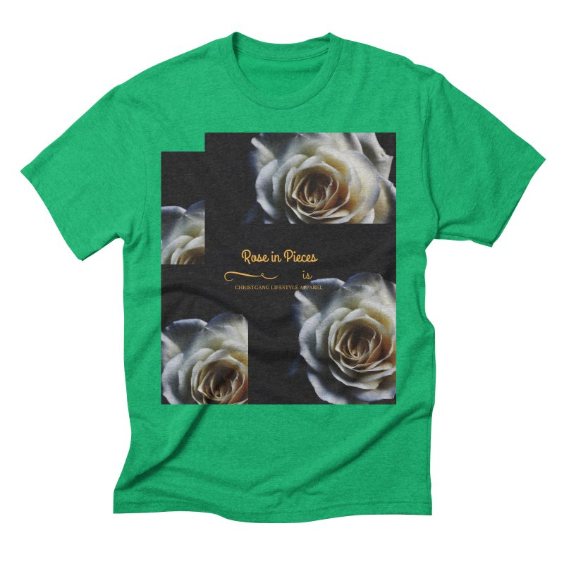 Pieces Of A Rose Men's Triblend T-Shirt by ChristGang Apparel