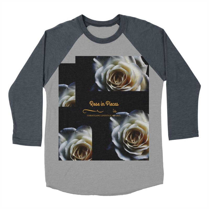 Pieces Of A Rose Men's Baseball Triblend Longsleeve T-Shirt by ChristGang Apparel
