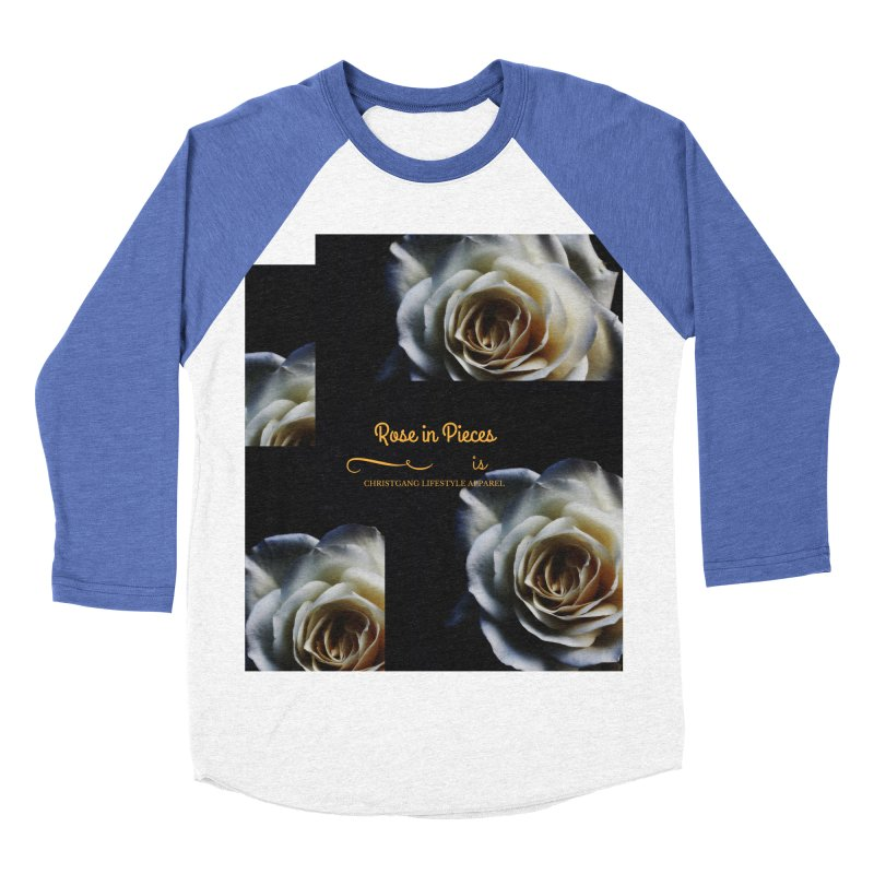Pieces Of A Rose Men's Baseball Triblend T-Shirt by ChristGang Apparel