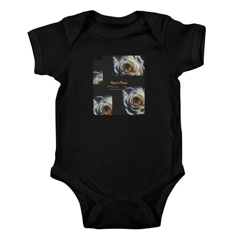 Pieces Of A Rose Kids Baby Bodysuit by ChristGang Apparel