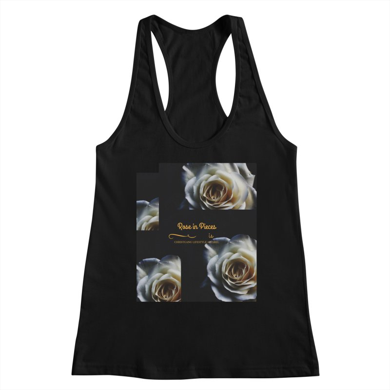 Pieces Of A Rose Women's Tank by ChristGang Apparel