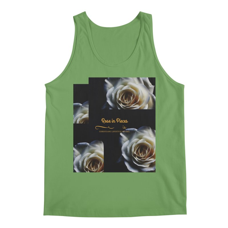 Pieces Of A Rose Men's Tank by ChristGang Apparel