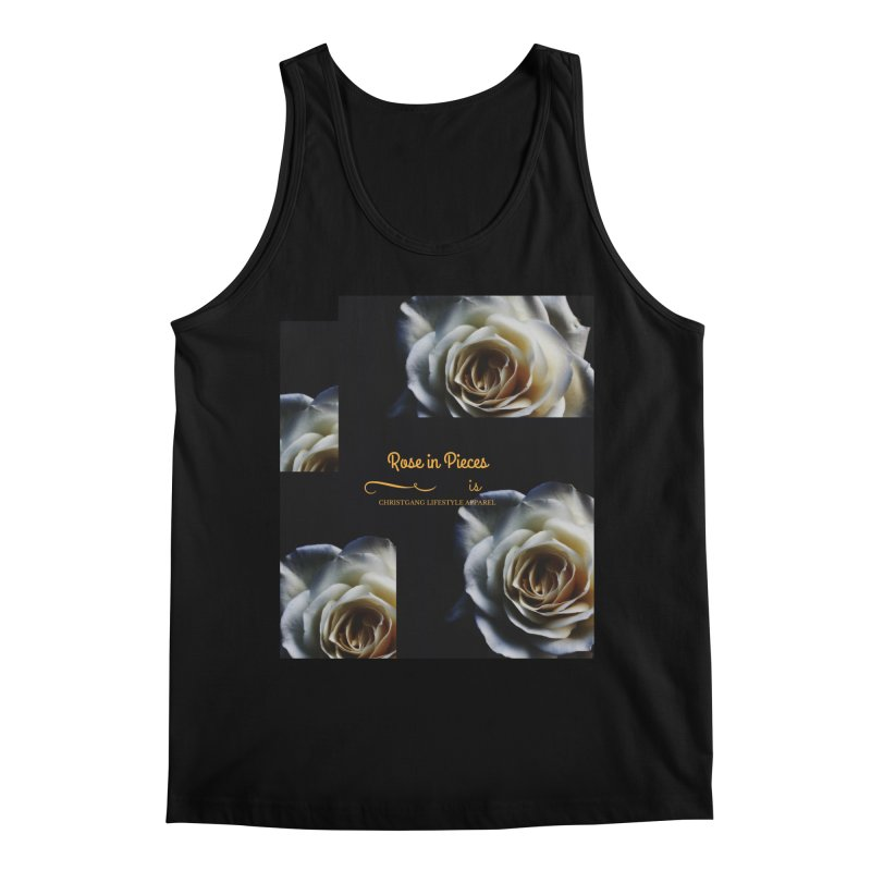 Pieces Of A Rose Men's Regular Tank by ChristGang Apparel