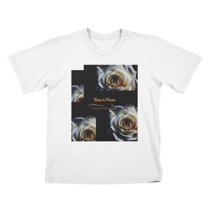 Pieces Of A Rose Kids T-Shirt by ChristGang Apparel