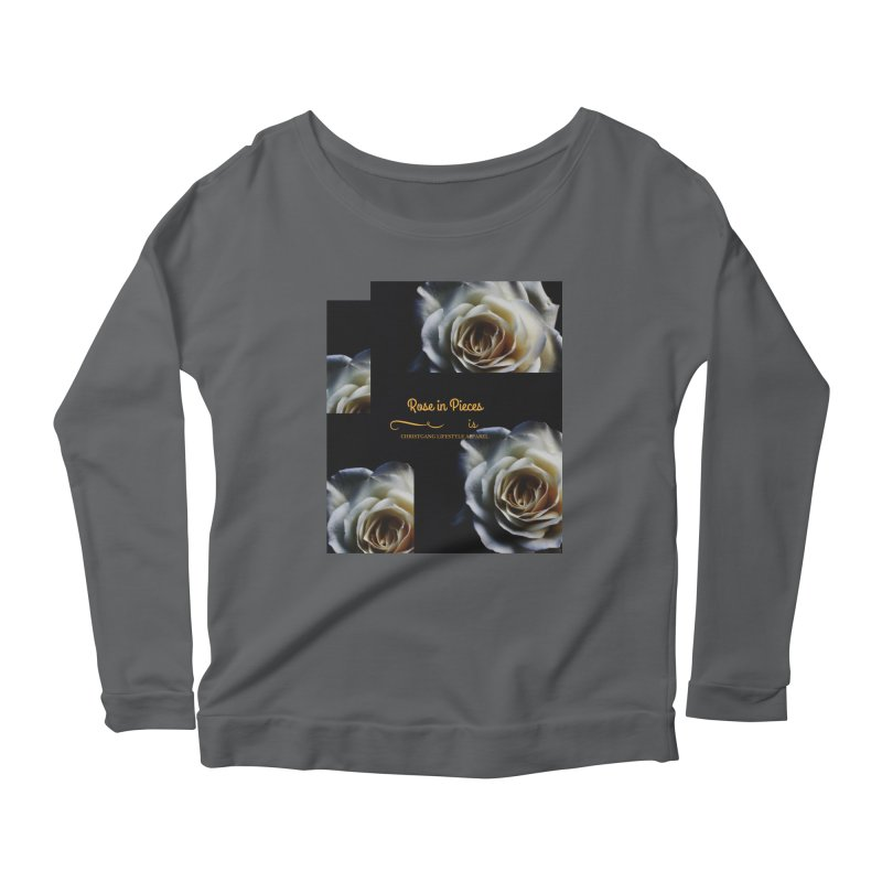 Pieces Of A Rose Women's Longsleeve T-Shirt by ChristGang Apparel