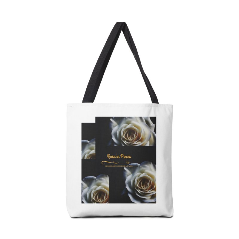 Pieces Of A Rose Accessories Bag by ChristGang Apparel