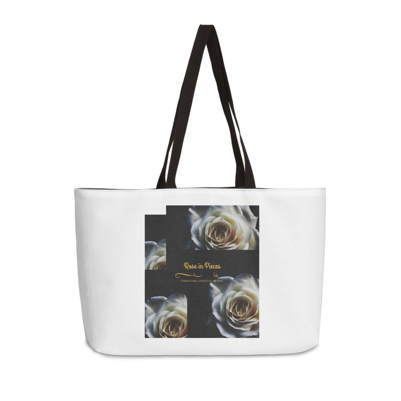 Pieces Of A Rose Accessories Weekender Bag Bag by ChristGang Apparel