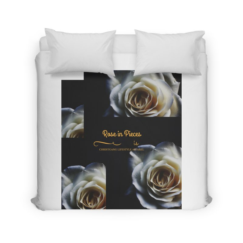 Pieces Of A Rose Home Duvet by ChristGang Apparel