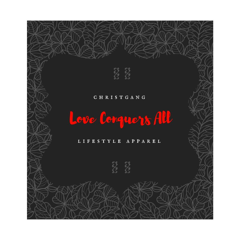 Love Conquers All Accessories Zip Pouch by ChristGang Apparel