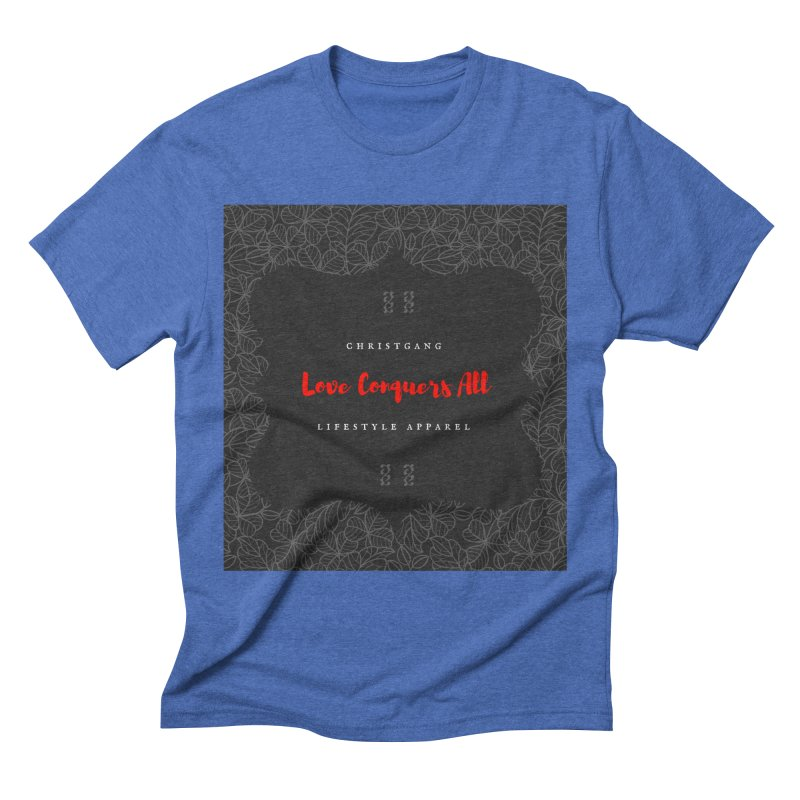 Love Conquers All Men's T-Shirt by ChristGang Apparel
