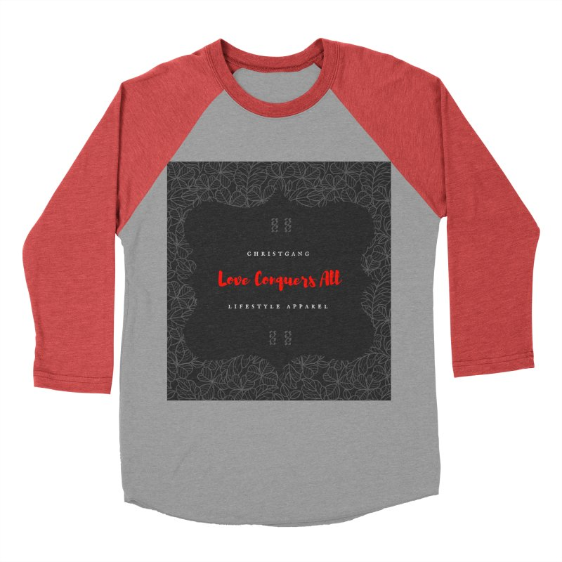 Love Conquers All Men's Longsleeve T-Shirt by ChristGang Apparel
