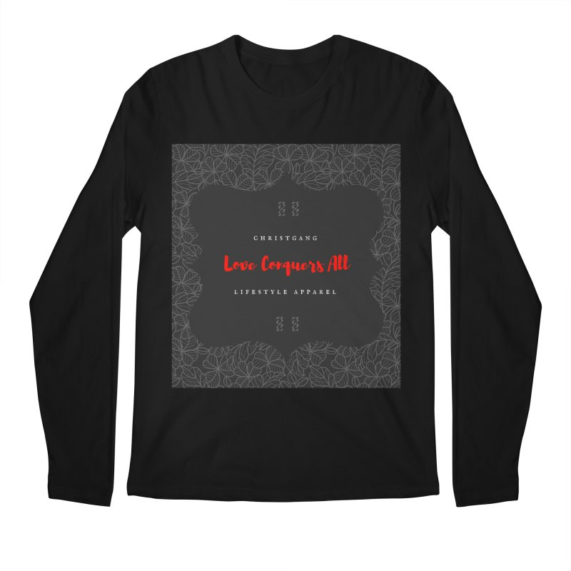 Love Conquers All Men's Regular Longsleeve T-Shirt by ChristGang Apparel
