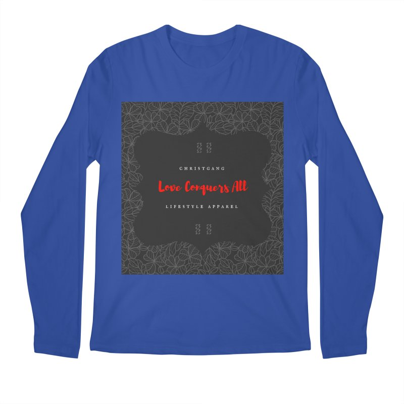 Love Conquers All Men's Regular Longsleeve T-Shirt by ChristGang Apparel