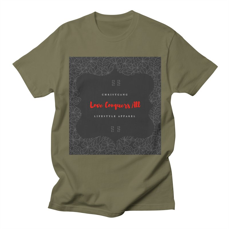 Love Conquers All Women's Regular Unisex T-Shirt by ChristGang Apparel