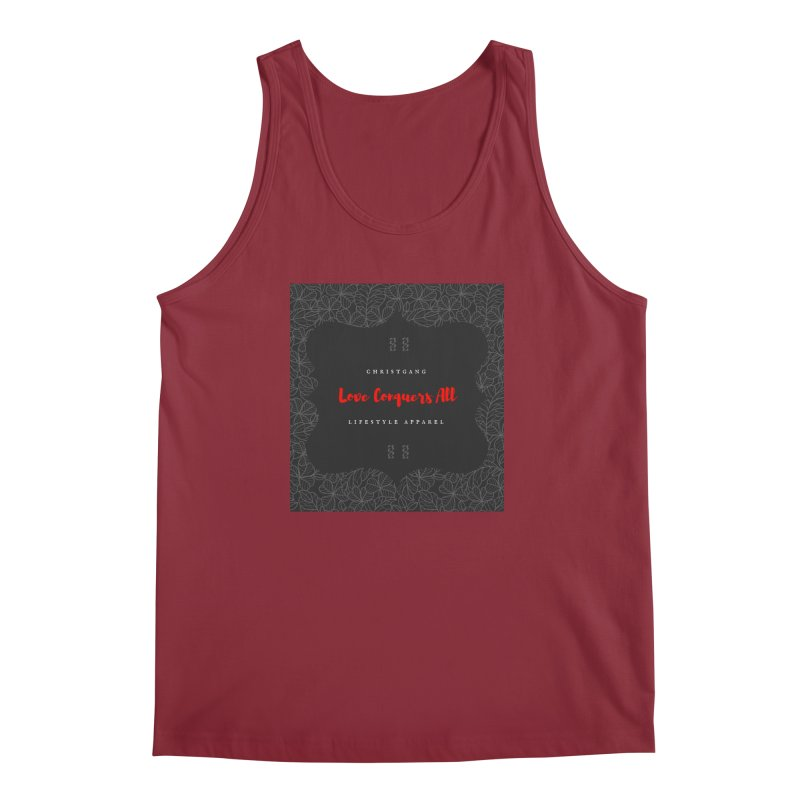 Love Conquers All Men's Regular Tank by ChristGang Apparel