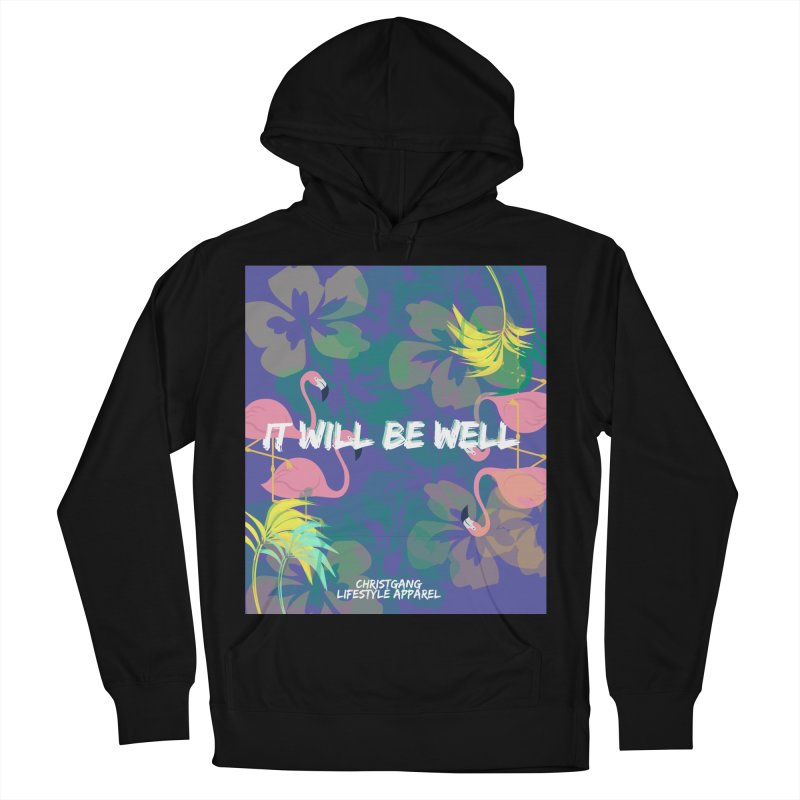 Somewhere In The Tropics Women's French Terry Pullover Hoody by ChristGang Apparel