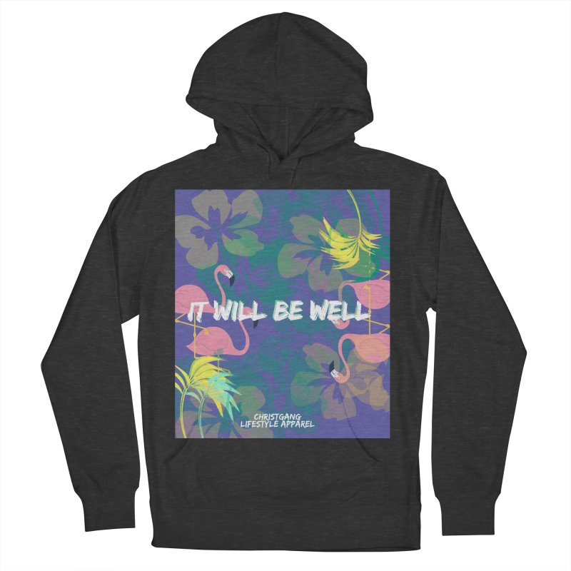 Somewhere In The Tropics Men's Pullover Hoody by ChristGang Apparel