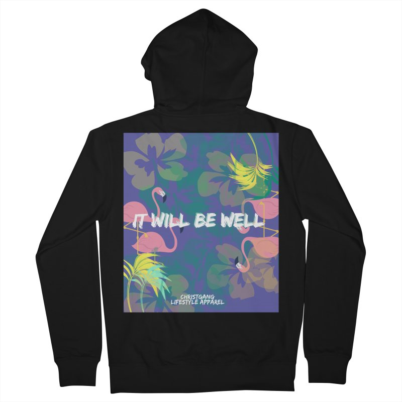 Somewhere In The Tropics Women's Zip-Up Hoody by ChristGang Apparel