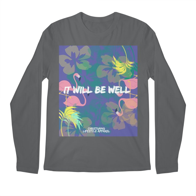 Somewhere In The Tropics Men's Longsleeve T-Shirt by ChristGang Apparel