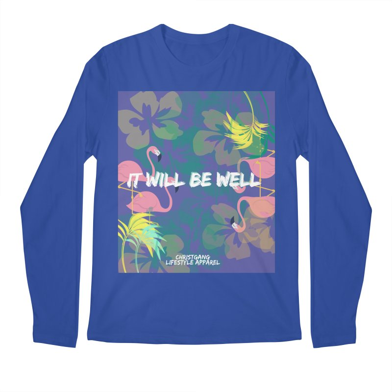 Somewhere In The Tropics Men's Regular Longsleeve T-Shirt by ChristGang Apparel