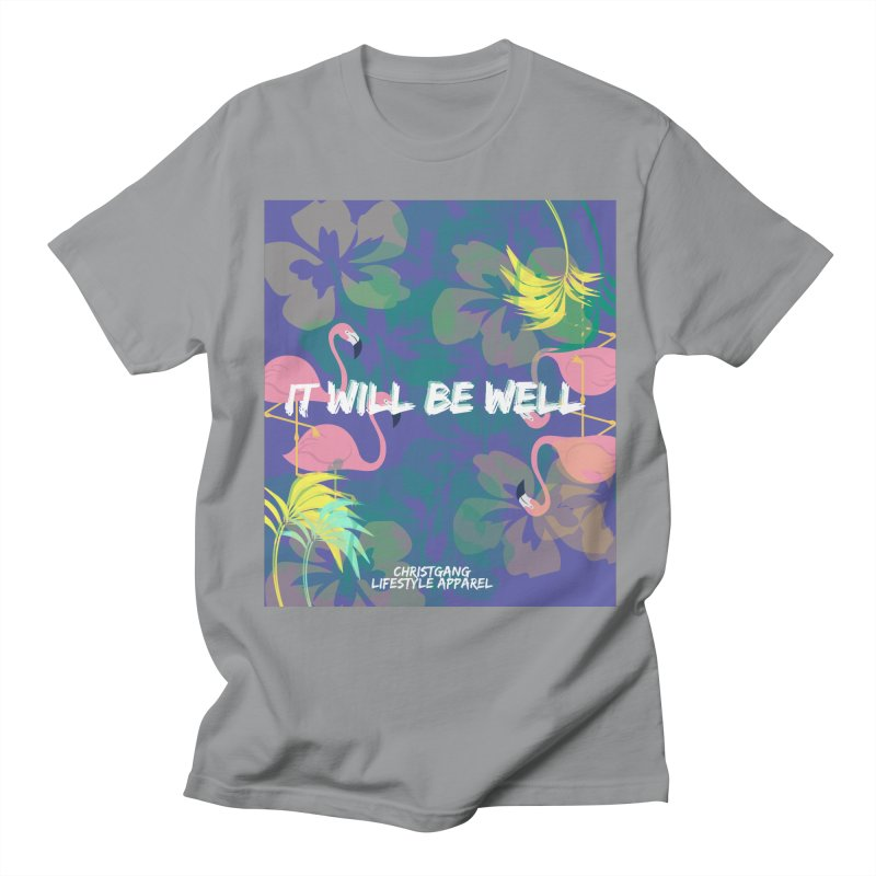 Somewhere In The Tropics Men's Regular T-Shirt by ChristGang Apparel