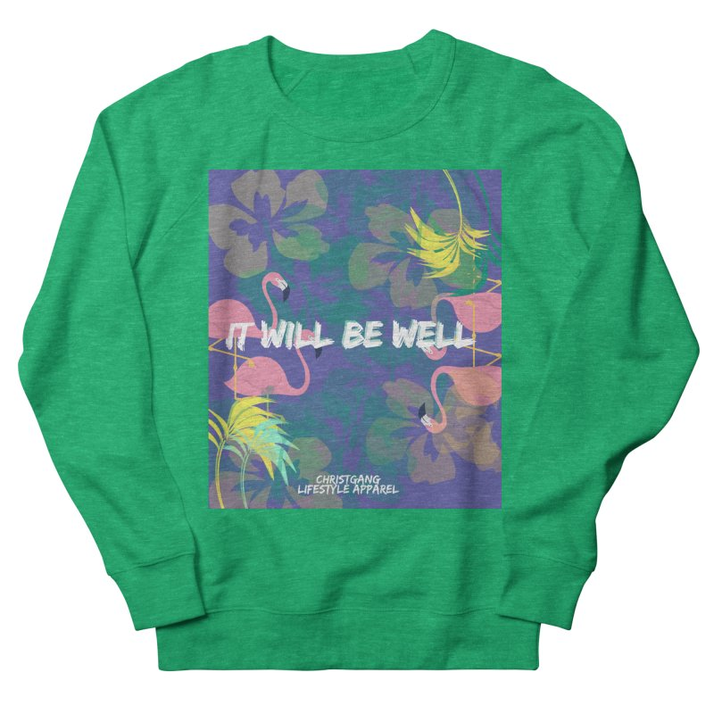 Somewhere In The Tropics Women's French Terry Sweatshirt by ChristGang Apparel