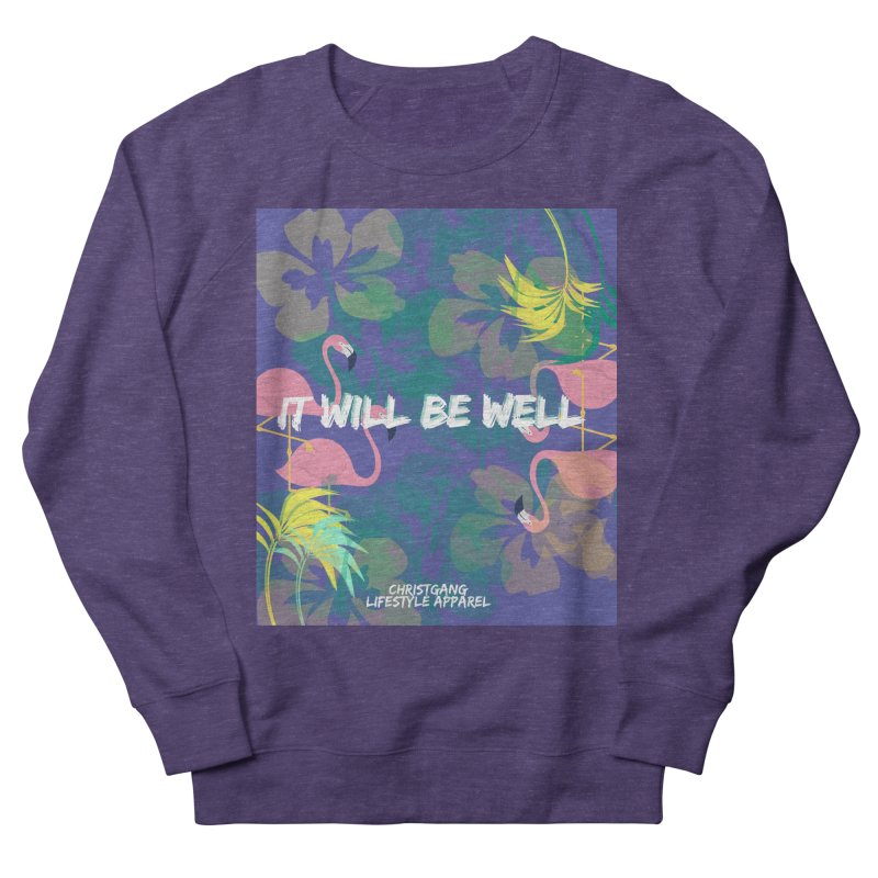 Somewhere In The Tropics Men's French Terry Sweatshirt by ChristGang Apparel