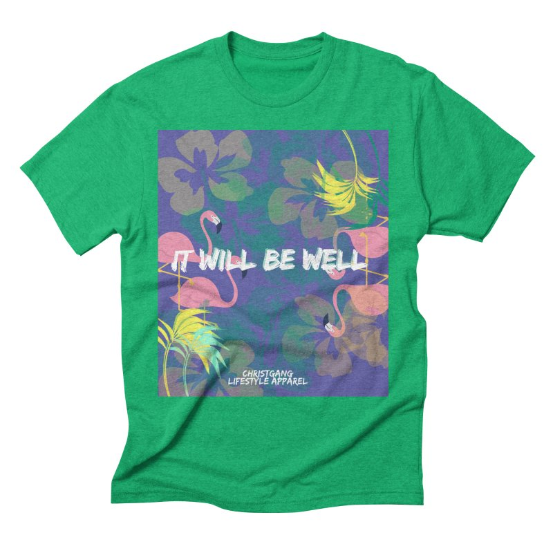 Somewhere In The Tropics Men's Triblend T-Shirt by ChristGang Apparel