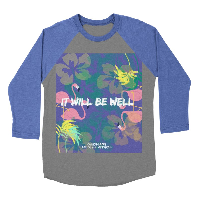 Somewhere In The Tropics Women's Baseball Triblend Longsleeve T-Shirt by ChristGang Apparel
