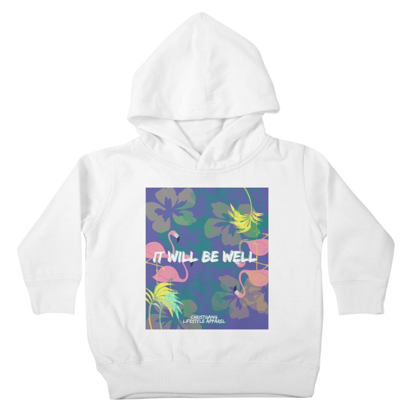Somewhere In The Tropics Kids Toddler Pullover Hoody by ChristGang Apparel